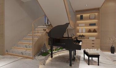140平米别墅日式风格楼梯间装修图片大全