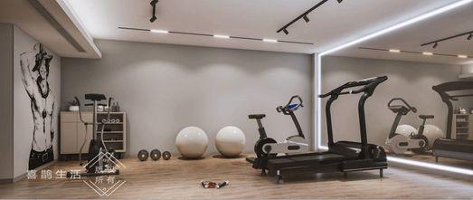 140平米别墅现代简约风格健身室设计图