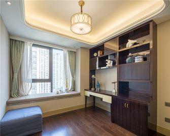 140平米三室两厅混搭风格书房效果图