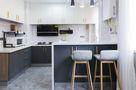130平米三室三厅混搭风格厨房图