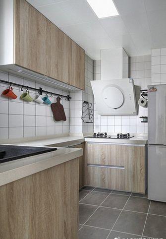 80平米三室两厅日式风格厨房图片大全