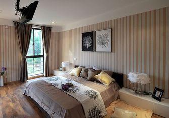 15-20万140平米复式现代简约风格卧室背景墙图片