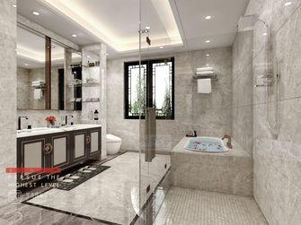 140平米别墅中式风格卫生间图片