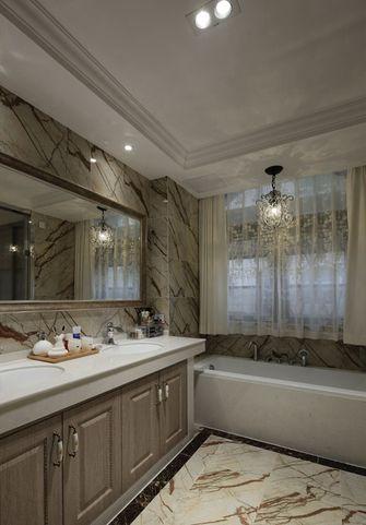 140平米四室三厅中式风格卫生间装修图片大全