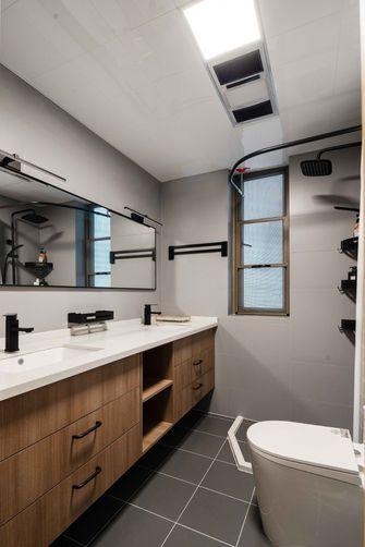 80平米三室两厅现代简约风格卫生间效果图