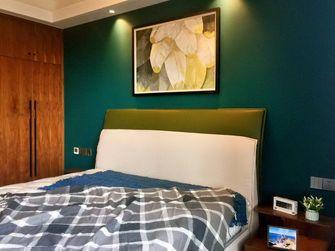 140平米复式北欧风格卧室装修案例