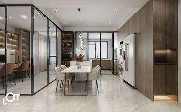 经济型140平米三室两厅现代简约风格厨房图