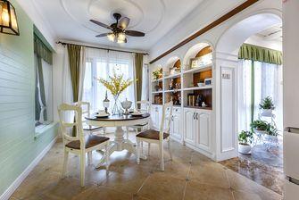 140平米四室两厅地中海风格餐厅装修效果图
