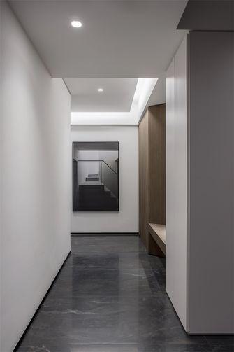 110平米三室一厅现代简约风格走廊装修案例