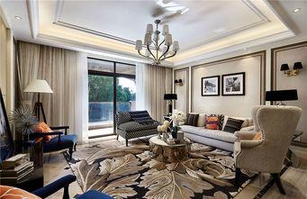 110平米三室四厅新古典风格客厅装修图片大全