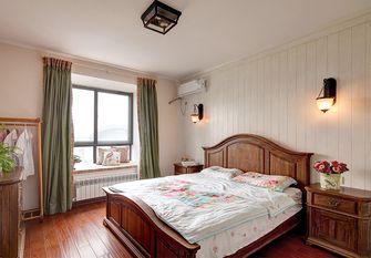 130平米三室两厅田园风格卧室效果图