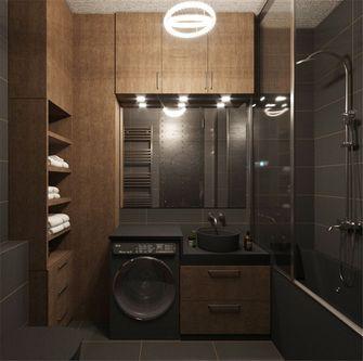50平米一室一厅英伦风格卫生间欣赏图