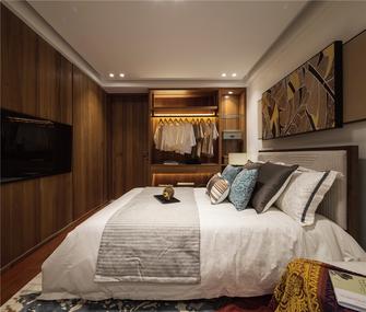 90平米三室两厅东南亚风格卧室装修效果图