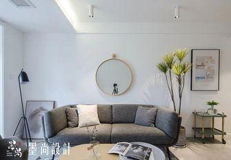 90平米三室两厅中式风格客厅图