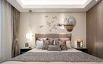 130平米三室两厅新古典风格卧室装修图片大全