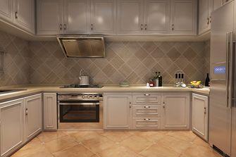 80平米一居室美式风格厨房效果图