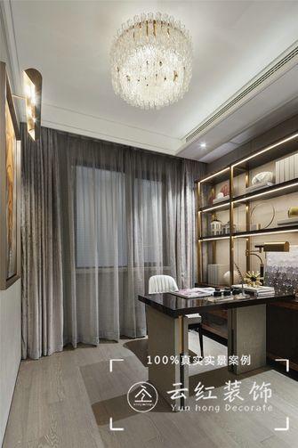 140平米复式现代简约风格书房效果图
