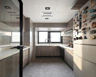 120平米三室一厅英伦风格厨房效果图