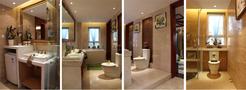 140平米东南亚风格客厅设计图