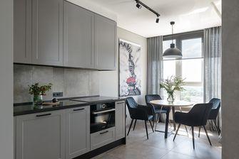 60平米一室两厅现代简约风格餐厅装修案例