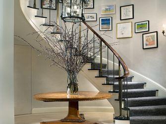 140平米别墅美式风格楼梯图片