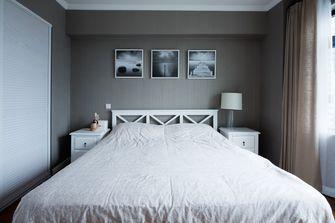 140平米三室三厅田园风格卧室图片大全