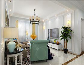 120平米三室兩廳歐式風格客廳圖片