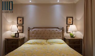 80平米一居室新古典风格卧室设计图