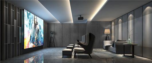 140平米四欧式风格影音室设计图