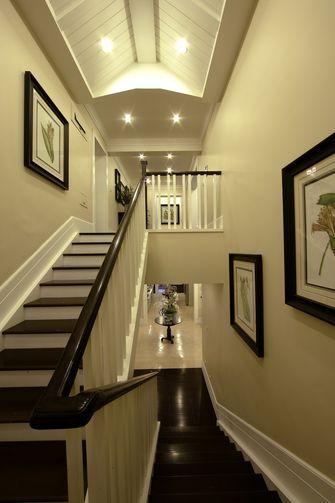 140平米别墅美式风格楼梯装修案例