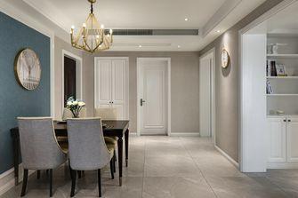 110平米四室两厅欧式风格餐厅装修案例