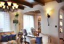 130平米三室两厅地中海风格走廊图片大全