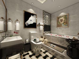 90平米现代简约风格卫生间浴室柜设计图