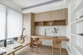 100平米三室两厅日式风格书房设计图