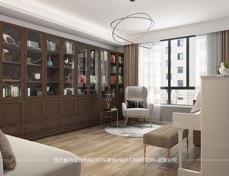 10-15万140平米四室一厅现代简约风格书房图片大全