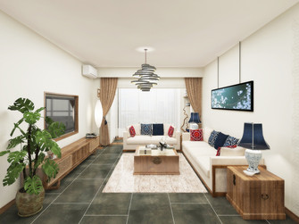 豪华型130平米三室两厅日式风格影音室图片