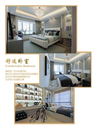 豪华型130平米四室两厅法式风格卧室图片大全