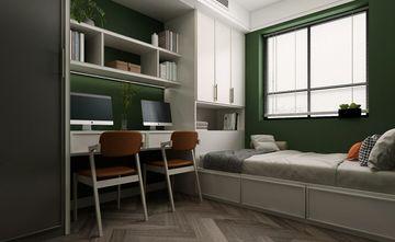 120平米三室两厅北欧风格书房效果图