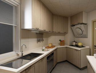 130平米三室两厅混搭风格厨房图片大全