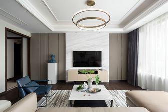120平米三室一厅田园风格客厅装修效果图