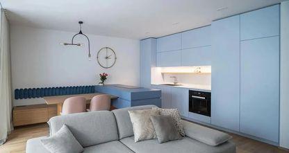 60平米公寓现代简约风格客厅装修效果图