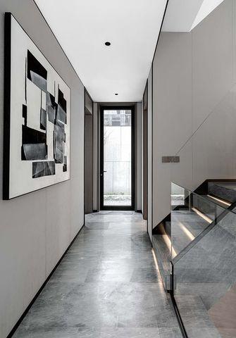 120平米三室一厅新古典风格玄关图片大全