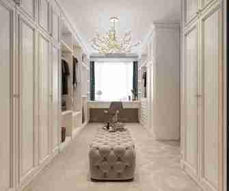 豪华型140平米三室两厅其他风格衣帽间欣赏图