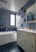 120平米三室两厅地中海风格卫生间图