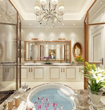 豪华型140平米别墅法式风格卫生间浴室柜设计图