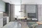 90平米三室五厅现代简约风格客厅效果图