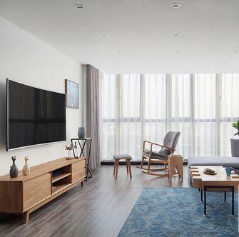 130平米复式欧式风格客厅图片大全
