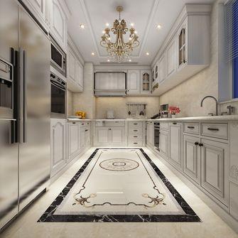 140平米三室三厅欧式风格厨房图片大全