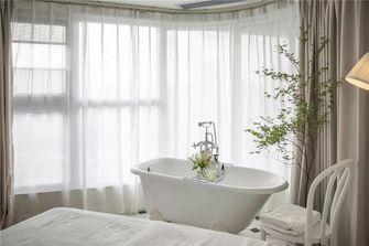90平米三室两厅法式风格卧室装修案例