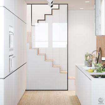 110平米三现代简约风格楼梯间装修案例